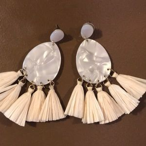 Francesca's Fringe Earrings